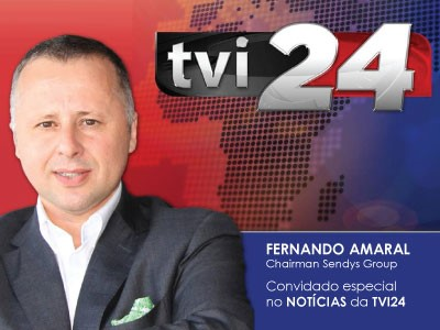 Fernando Amaral, chairman do SENDYS GROUP na TVI24