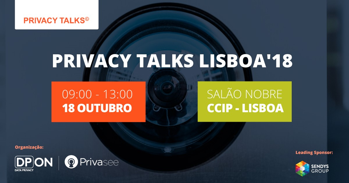 PRIVACY TALKS LISBOA'18
